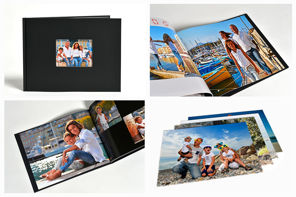 Séance photo en famille : livre album photo portrait, photographe Nice